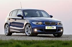 5 Personen Auto BMW 116 zu vermieten auf Kreta.